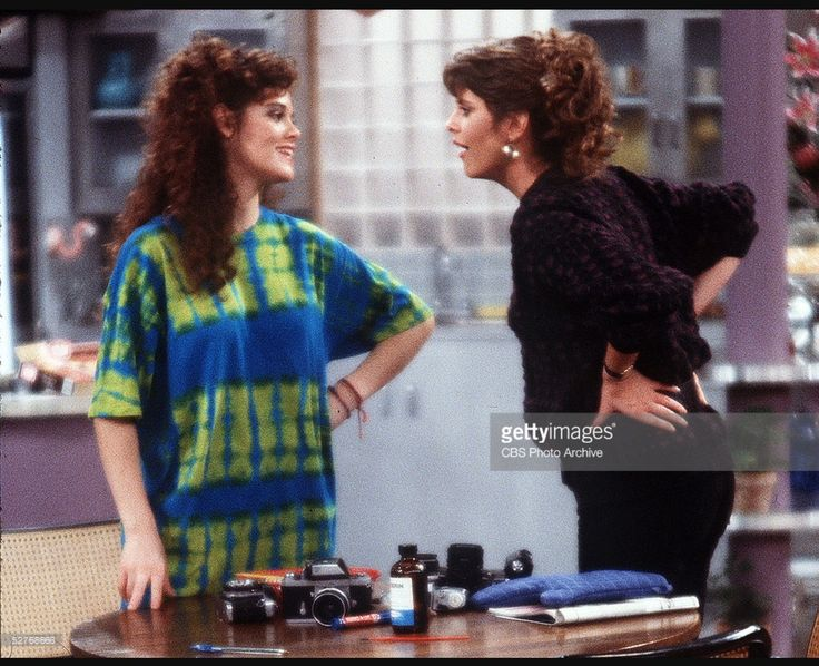 My Sister Sam. Rebecca Schaeffer and Pam Dawber