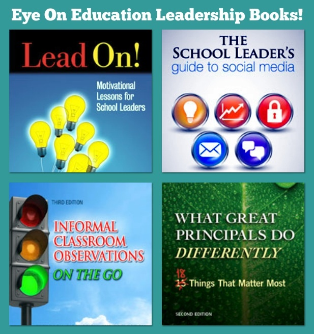 Eye On Education Leadership Books! (School Leadership)
