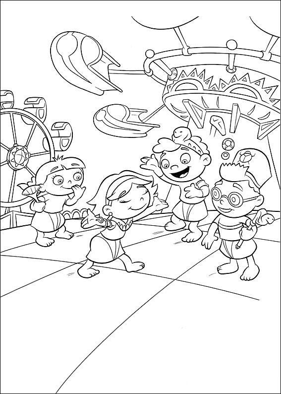 17 best Little Einsteins Coloring Pages images on Pinterest 3rd