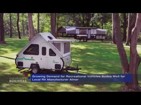 Pittsburgh's RV Manufacturer Aliner Inc., Finds Success - YouTube