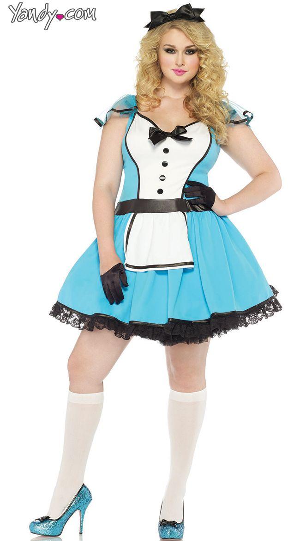 plus size adult alice costume - Size 18 Halloween Costumes