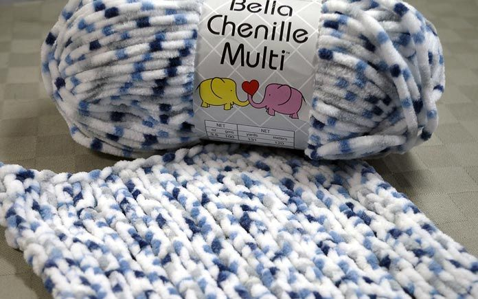 I'd like to introduce you to Bella Chenille Multi, one of