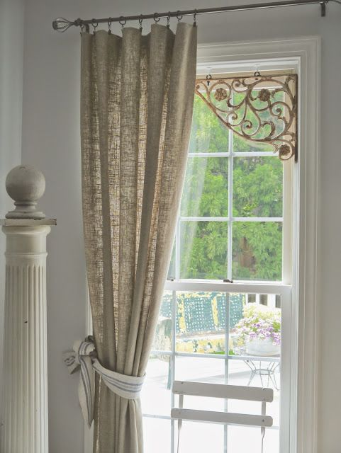 Chateau Chic Ideas For Easy Window Treatments Shabby