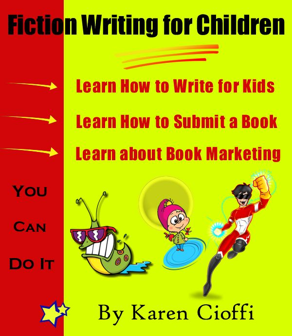 Learn how to write fiction for children, submit to publishers, and market your books from a multi-award-winning children's author. This is a 180 page ebook!