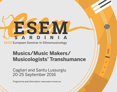 """Check out new work on my @Behance portfolio: """"ESEM XXXII - European Seminar in…"""