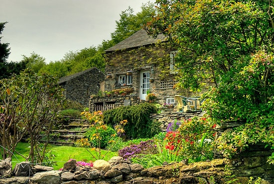 The English Lake District in Cumbria,NW England by VoluntaryRanger on redbubble.com