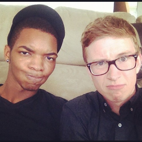 Tyler Oakley and Kingsley? My life is complete.