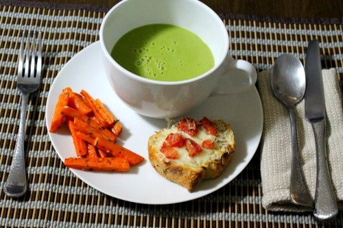 Vegetarian Pea Soup | things to eat. | Pinterest