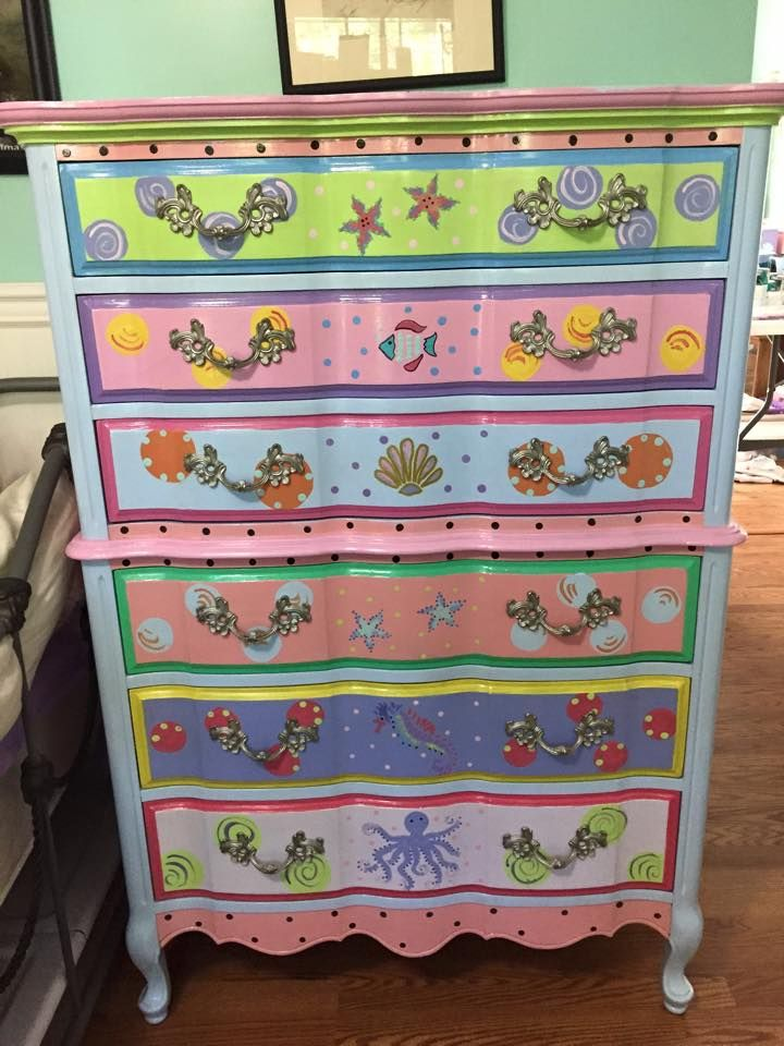 Funky Furniture Factory Chest Of Drawers