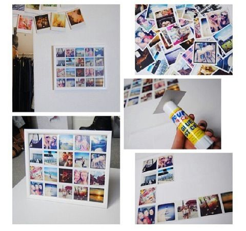 Picture frame diy   Fun Ideas / Projects   Pinterest