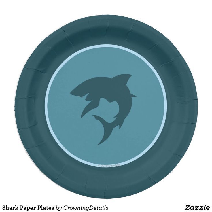 Shark Paper Plates to make your shark birthday party fin-tastic! Shop our entire collection of shark party supplies in our online store.