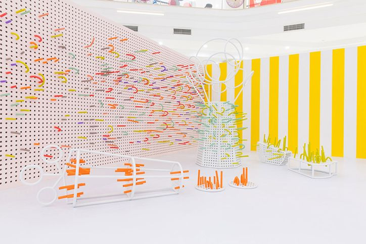 Mathery Studio designs super cool interactive, foam-filled space for kids