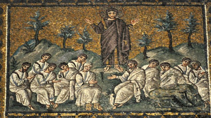 Jesus in the Garden of Gethsemane Church of Sant'Apollinare Nuovo, Ravenna