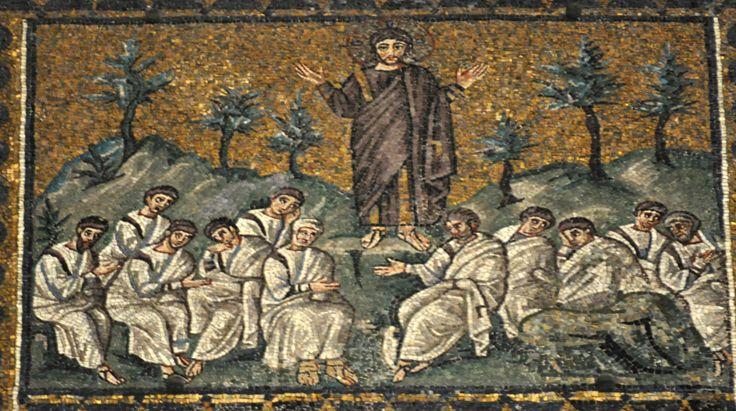 Jesus in the Garden of Gethsemane Church of Sant'Apollinare Nuovo, Ravenna