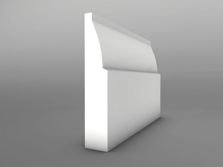 Ovolo MDF Skirting Board 15mm