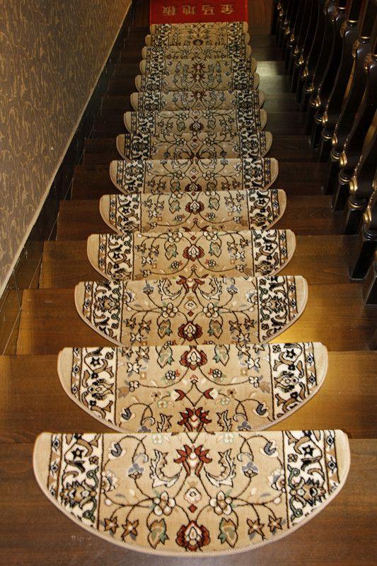 New Arrival Hot Selling Stair Mat Hlwg Glue Slip Resistant Stair Carpet  Stair Strode