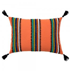 Bolormaa Beaded Cushion