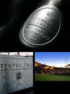 Tempus two winery. Very excited to visit here as I love their wine!