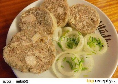 Kuřecí tlačenka recept - TopRecepty.cz