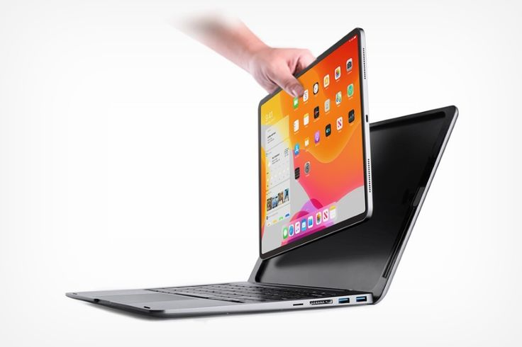 The Doqo Case Turns Your Ipad Pro Into A Macbook With A Trackpad And Multiple Ports Yanko Design In 2020 Ipad Pro Macbook Trackpad