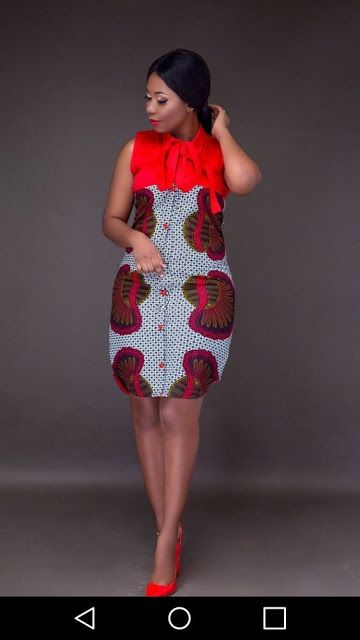 4332737a3aeb0f Online Hub For Fashion Beauty And Health  Simply Stylish And Lovely Ankara  Short Gown Style