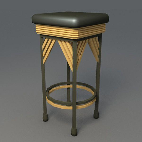 Wonderful Art Deco Furniture Bar 3d Model   Art Deco Furniture... By Thaumaturgy