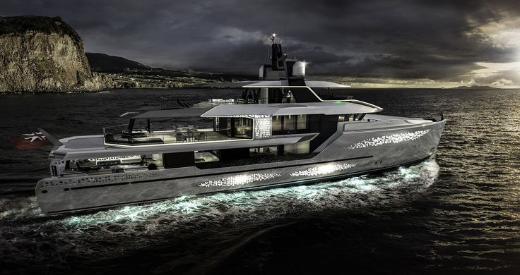 Revolution (47m) by Jongert and Vripack | Expedition Yacht