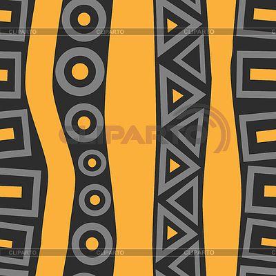 Бесшовные ретро геометрический узор | Иллюстрация большого размера | ID 4622294