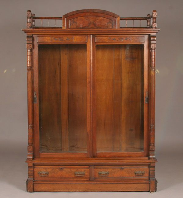 Victorian Eastlake Style Bookcase
