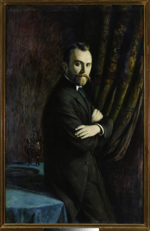 Władysław Podkowiński -Portret Konrada Dynowskiego
