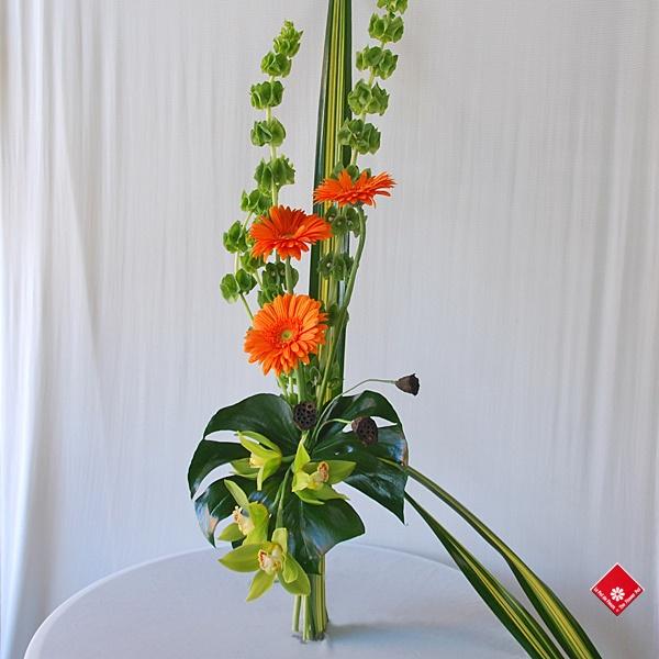 Exotic Bouquet - Bouquet Exotique gerbera orange   Flickr: partage de photos!