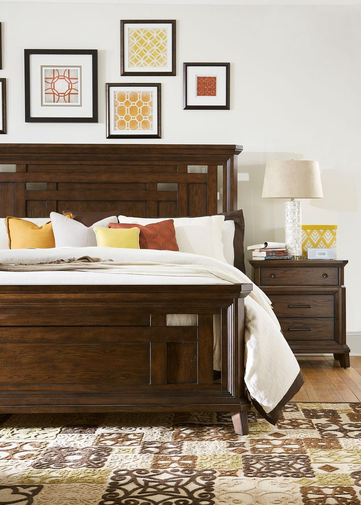 Broyhill Furniture Estes Park King Bedroom Group