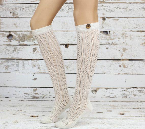 lace socks sexy leg warmer girly boot socks boot by DayfitFashion, $23.99