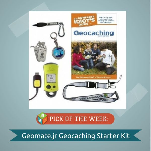 This kit allows teachers and students to experience geocaching on campus or in parks near school.