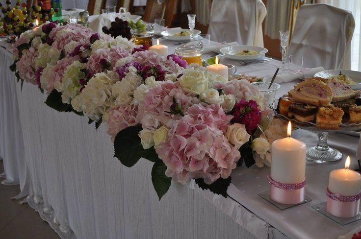 Wedding inspiration. Dekoracja stołu weselnego