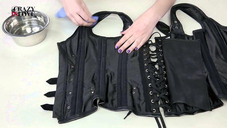 Cómo lavar un corset de polipiel