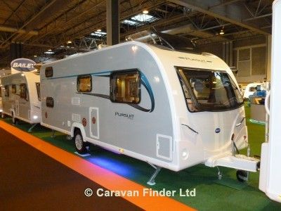Used Bailey Pursuit 540 2014 touring caravan Image