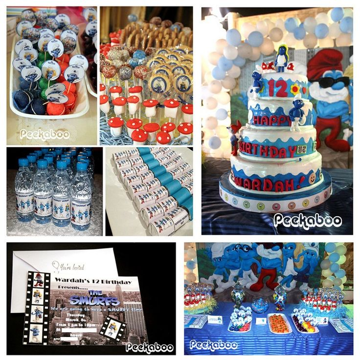 Image detail for -smurf birthday party ideas and inspiration | Make ...