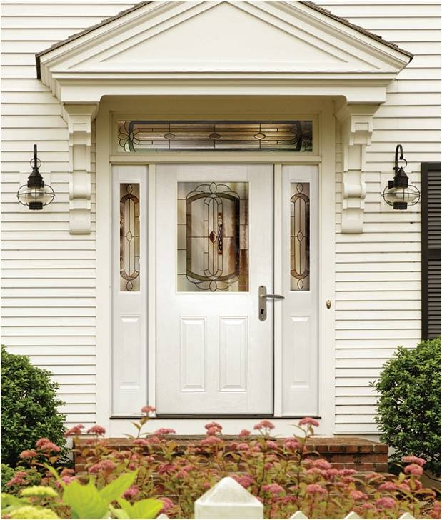 Unique White Residential Front Doors Oak Door 30 X 68 Doorsoak Intended Design