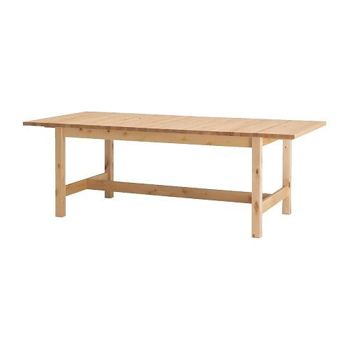 NORDEN Dining Table IKEA Extendable With 1 Extra Leaf Seats 8 10 Makes It Possible To Adjust The Size According Need