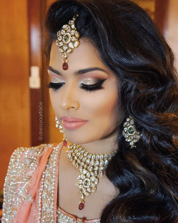 Cool 25 Best Ideas About Indian Bridal Makeup On Pinterest Indian Hairstyle Inspiration Daily Dogsangcom