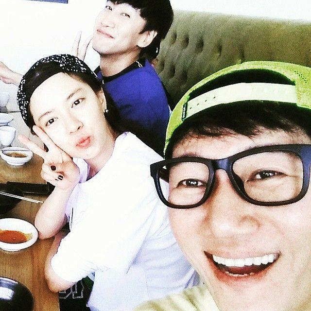 Ji Suk Jin's Instagram Update✌ #leekwangsoo #kwangsoo #jisukjin   #songjihyo #jihyo  #runningman   #Regrann from @jeeseokjin -