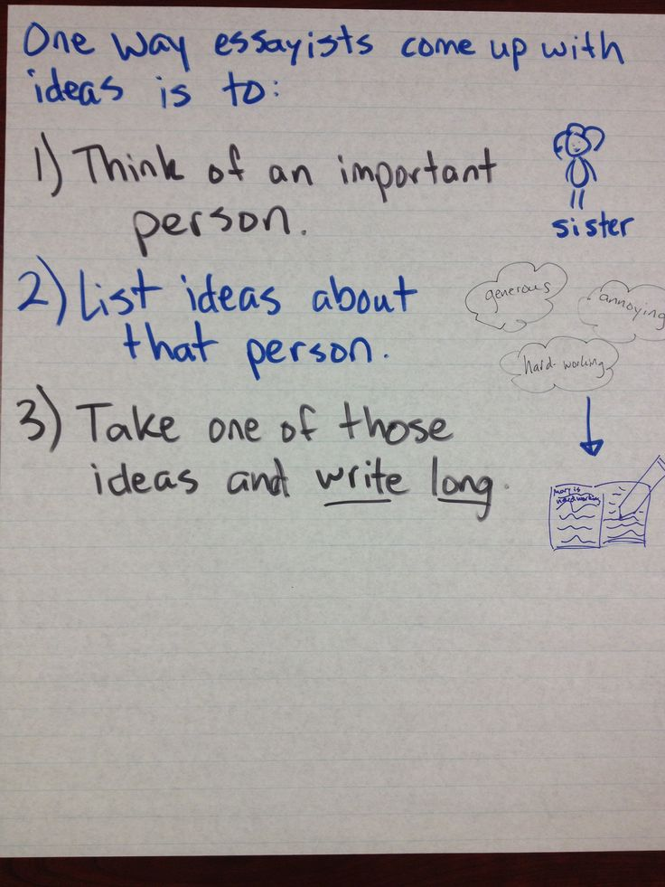 Top 1 Interesting Personal Essay Topic Ideas - Writing