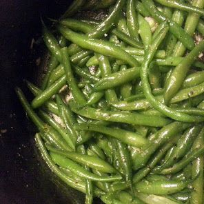 Lemon- Garlic Green Beans recipe snapshot