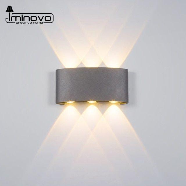 Modern Led Wall Lampwaterproof 2w 4w 6w Wall Sconces Indoor Stair