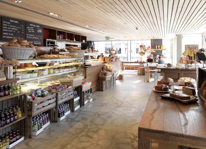 decoracao de interiores snack barNew York Deli Style Decor