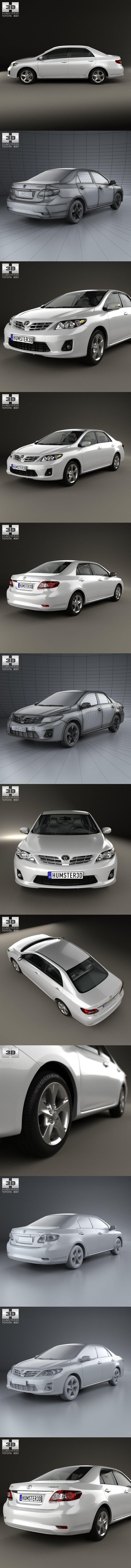 Toyota Corolla (E140) sedan EU 2012. Europe #toyota #toyotacorolla