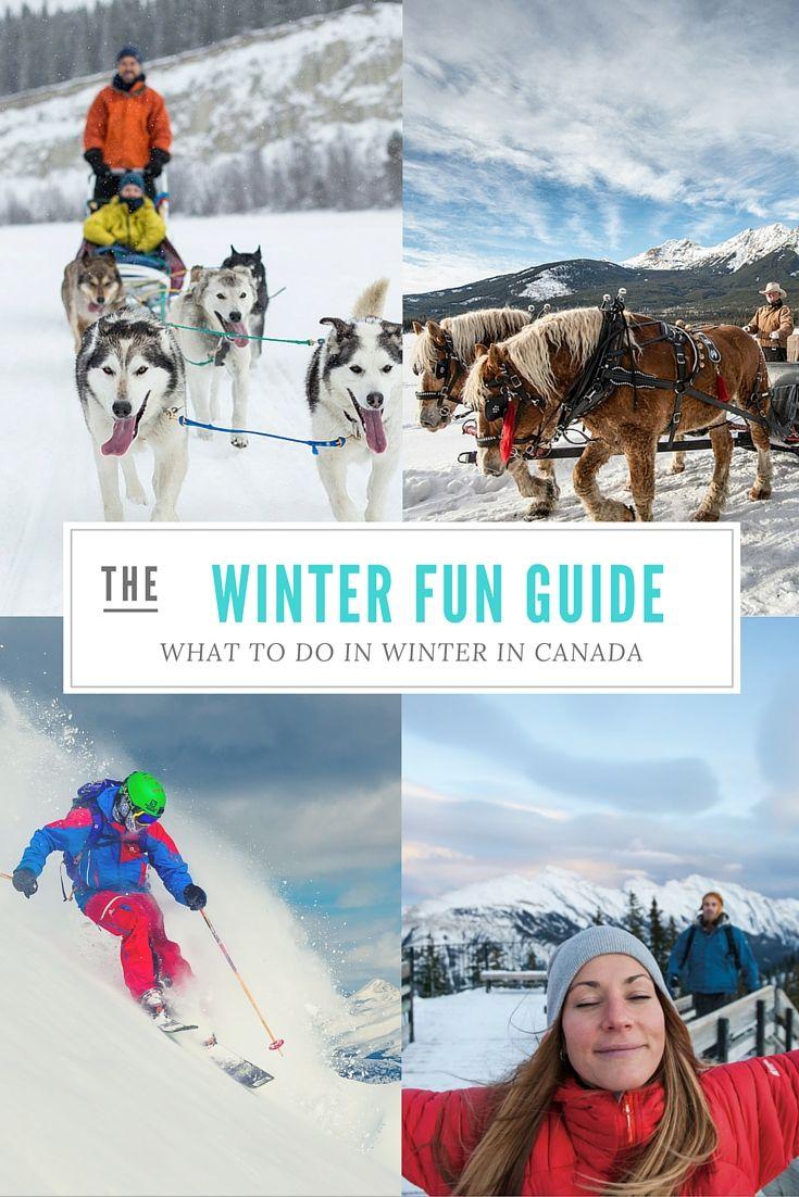 20 Things To Do In Winter In Canada #explorecanada