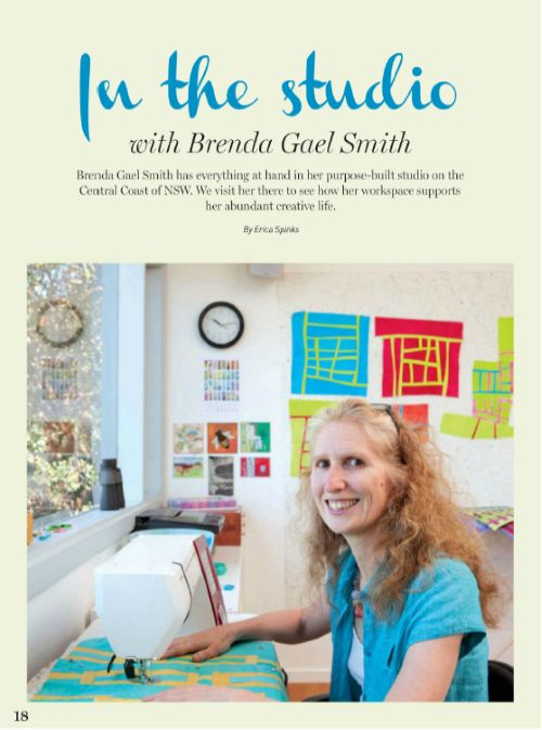 Creative Dabbling: In the Studio with Brenda Gael Smith