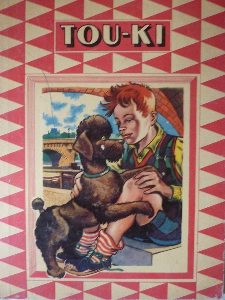 Livre Enfant Ancien Tou-Ki